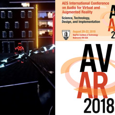 2018 AES International Conference on Audio for Virtual and Augmented Reality