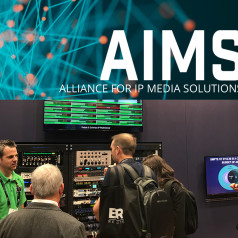 AIMS Members Lead AoIP Interoperability Demonstrations on New Audio-Over-IP Technology Pavilion at AES New York 2018