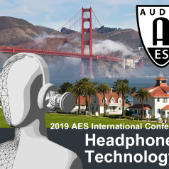 AES 2019 International Conference on Headphone Technology, San Francisco
