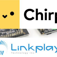 Chirp and Linkplay Partner To Create Audio-Based Connectivity Solutions for Consumer Products