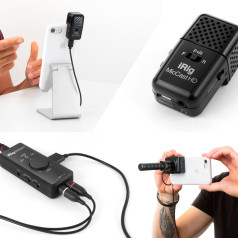 IK Multimedia Announces IK Creator Series of Mobile Microphones and Audio Interfaces