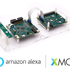 XMOS VocalFusion 2-Mic Dev Kit for Alexa Voice Service Qualified by Amazon