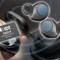 Smallest Low-Power Wireless Power Receiver for In-Case TWS Charging