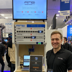 RME Debuts New Audio Networking Products for AVB Conversion and Recording