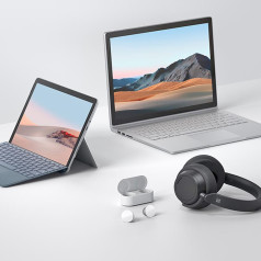 Microsoft Introduces Surface Headphones 2 and Surface Earbuds