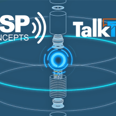 DSP Concepts TalkTo Audio Front End Qualified by Amazon for Alexa Built-In Devices