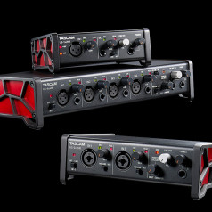 Tascam Launches US-HR Series of High-Resolution USB Audio Interfaces