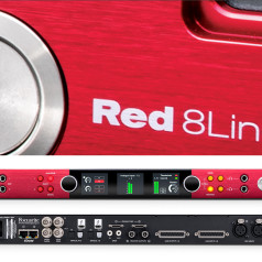 Focusrite Red 8Line Thunderbolt 3 Audio Interface Now Available