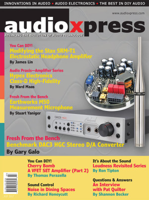 Get the Objective Perspective on Audio with audioXpress July
