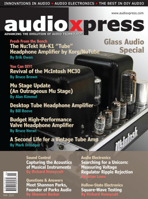 audioXpress May 2019 Glass Audio Special is Now Available! | audioXpress