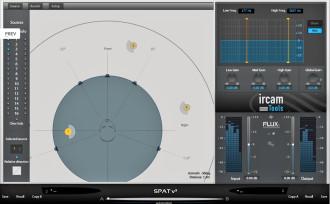 Flux Releases Positional Audio Plug-In IRCAM SPAT v3 for AAX/AU/VST