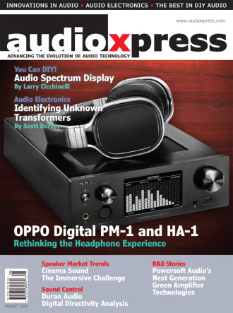 The August 2014 Issue of audioXpress Is Now Online | audioXpress