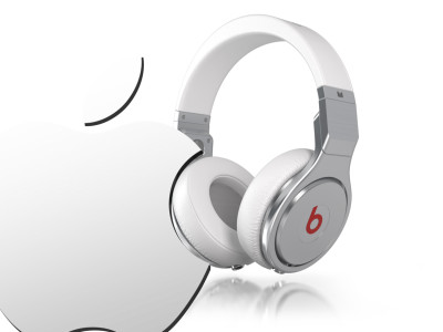 Apple bytes Beats Music & Beats Electronics