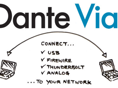 Audinate announces Dante software audio network solution