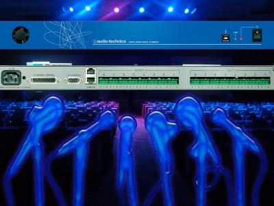 Audio-Technica's new AT-DMM828 Digital Matrix Mixer