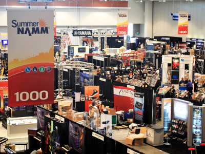 Summer NAMM 2014—July 17-19 at Nashville's Music City Center