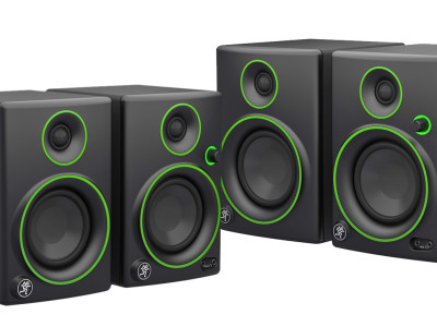 New and Ultra-Affordable Mackie Creative Reference Multimedia Monitors