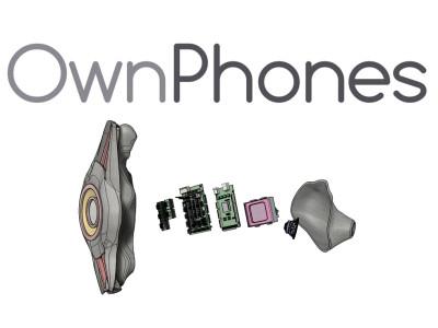 Wireless 3D Printed Custom-Fit Earbuds from OwnPhones