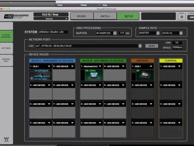 Waves Introduces Networkable SoundGrid Studio System