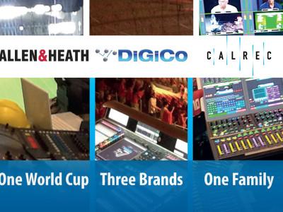 New Professional Audio Group Combines DiGiCo, Allen & Heath, and Calrec