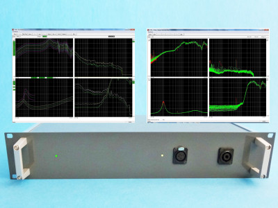 New K&K P750 QC Analyzer for loudspeaker, micro speakers and headphones testing