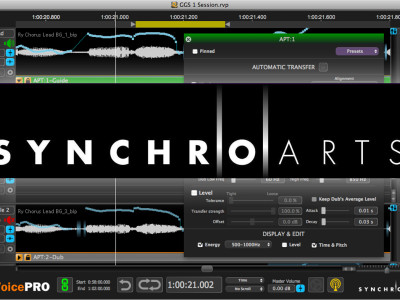 Synchro Arts Revoice Pro 2.6 for Mac and Windows