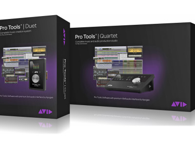 Avid and Apogee Announce Bundled Duet and Quartet Pro Tools Systems