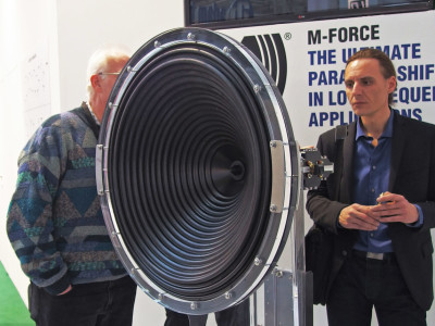 Powersoft to Present on Advanced Subwoofer Design and its Patented M-Force Loudspeaker Technology at 137th AES Convention