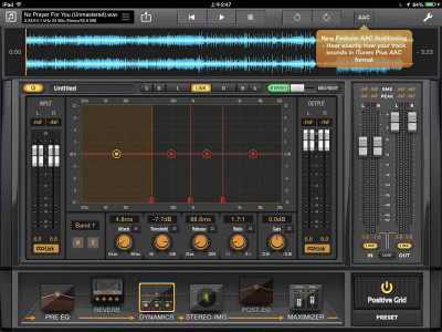 Positive Grid and Apple Join Forces On Mastering AAC Files