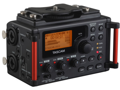 Tascam Updates DSLR Recorder DR-60DmkII and Releases DR-22WL and DR-44WL Portable Recorders with Wi-Fi