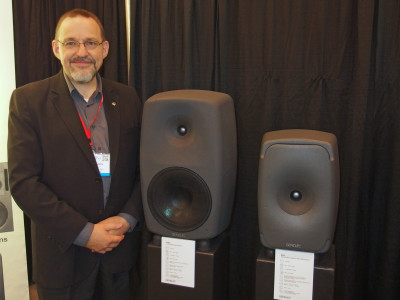 Genelec Introduces Revolutionary 8351 Smart Active Monitor at 137th AES Convention