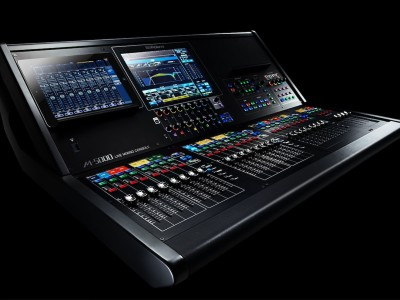 Roland M-5000 Live Mixing Console Introduces New Dante and Waves SoundGrid Platform