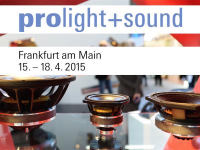 Prolight+Sound 2015 Celebrates 20th Anniversary in Frankfurt