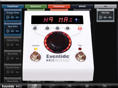 Eventide Announces H9 Max Harmonizer Stomp Box Package