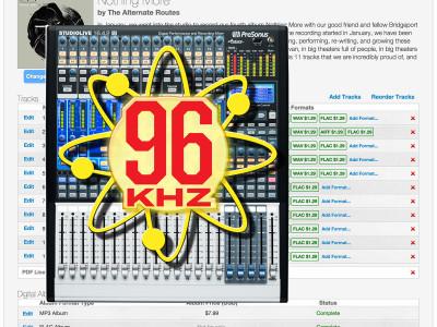 PreSonus StudioLive AI-series Mixers and Nimbit Add 96 kHz Support