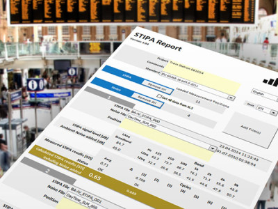 NTi Audio's Speech Intelligibility Reporting Tool Extended