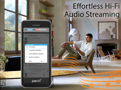 Microchip JukeBlox Platform Now Supports Qobuz Connect Lossless Wireless Audio