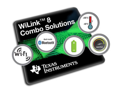 New Texas Instruments WiLink 8 Range of Wi-Fi and Bluetooth Modules