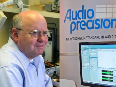 Audio Precision Co-founder Bruce Hofer Hands Reins to Dave Schmoldt