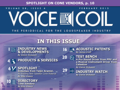 Voice Coil February 2015 is Now Available!