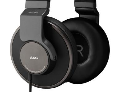 New AKG K553PRO Studio Headphones Truly for Professionals