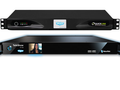 Audinate Brings Dante to NewTek's TalkShow and Quicklink TX Skype TX Solutions