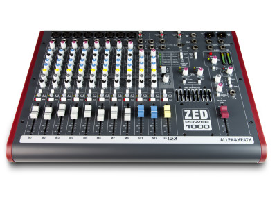 Allen & Heath Brings Back Its ZED Series Mixers Now With Powered Model