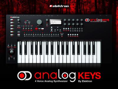 """Elektron's """"Analog Keys"""" Professional Analog Synthesizer Powered by Everspin's 16Mb MRAM"""