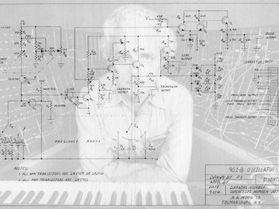 Bob Moog Foundation Unveils Historic Schematics from Archives
