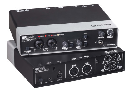 New Steinberg UR242 24-bit/192 kHz USB 2.0 Audio Interface