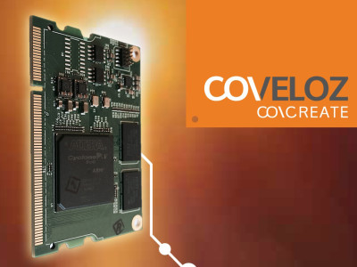 Coveloz Launches Networked Pro Audio SoC FPGA Development Kit for AVB and AES67 Applications