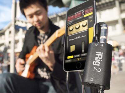 IK Multimedia Shipping iRig 2 Mobile Guitar Interface