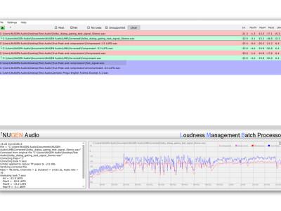 Nugen Audio's Loudness Management Batch (LMB) Processor Receives AS-11 DPP Certification From Advanced Media Workflow Association
