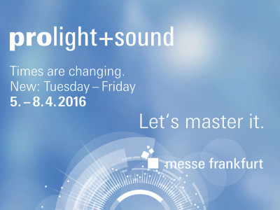 Messe Frankfurt Introduces New Concept for Musikmesse and Prolight+Sound in 2016